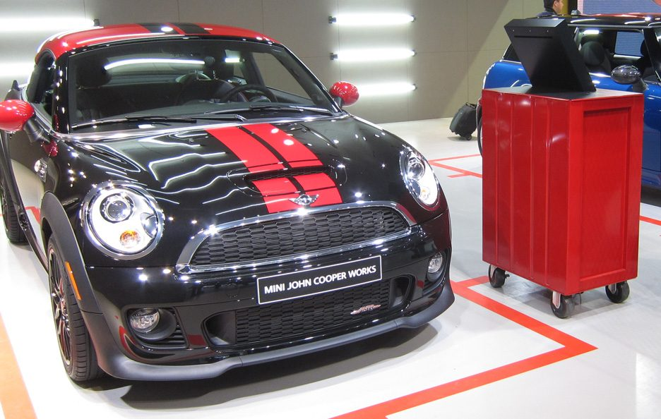 Mini Coupè John Cooper Works - Frontale