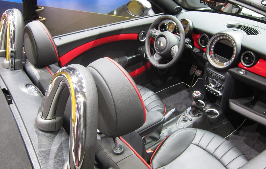 Mini Roadster John Cooper Works - Abitacolo