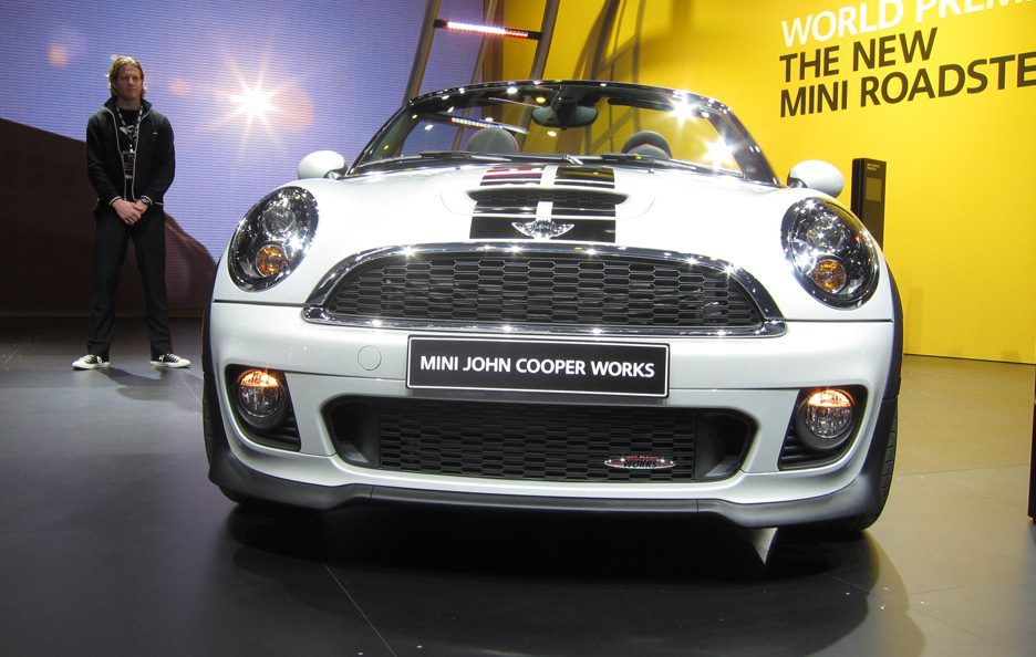 Mini Roadster John Cooper Works - Frontale