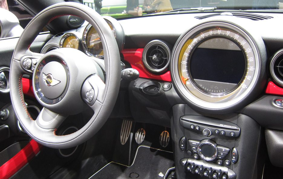Mini Roadster John Cooper Works - Interni