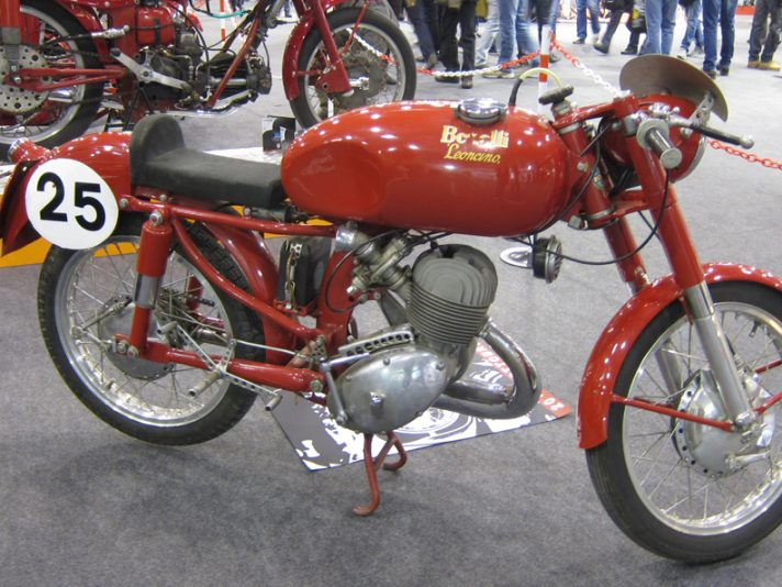 Moto d'epoca al Motor Bike Expo