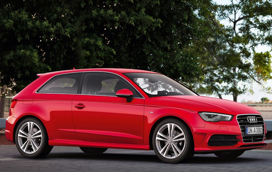 Nuova Audi A3 2012 - Red - Design
