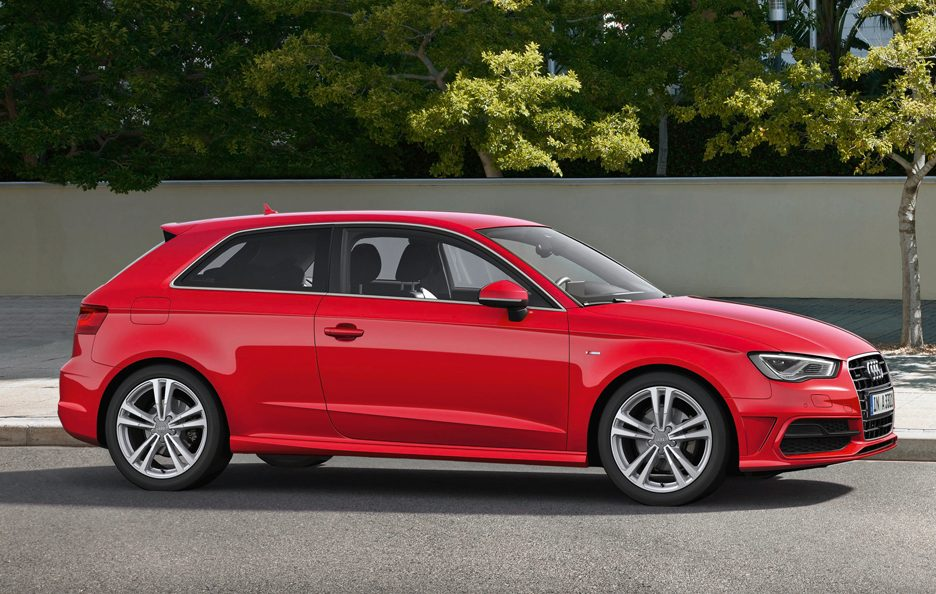 Nuova Audi A3 2012 - Red - Laterale