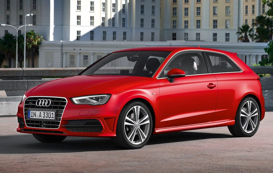 Nuova Audi A3 2012 - Red - Le linee