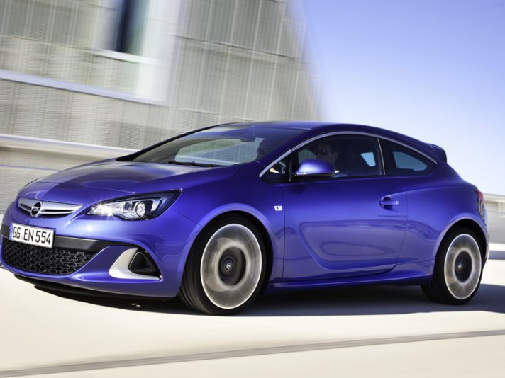 Opel Astra OPC - Laterale