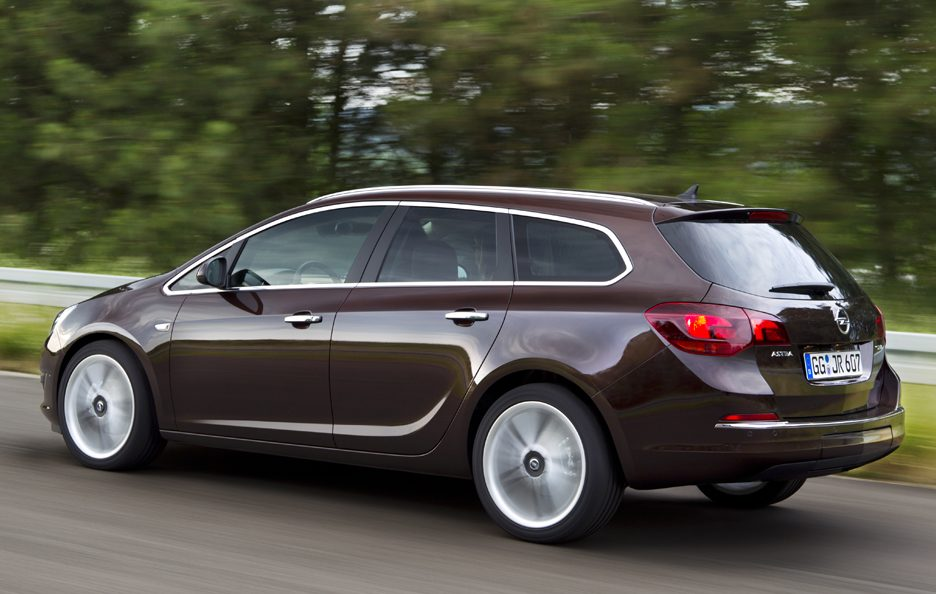 Opel Astra Station Wagon - Laterale