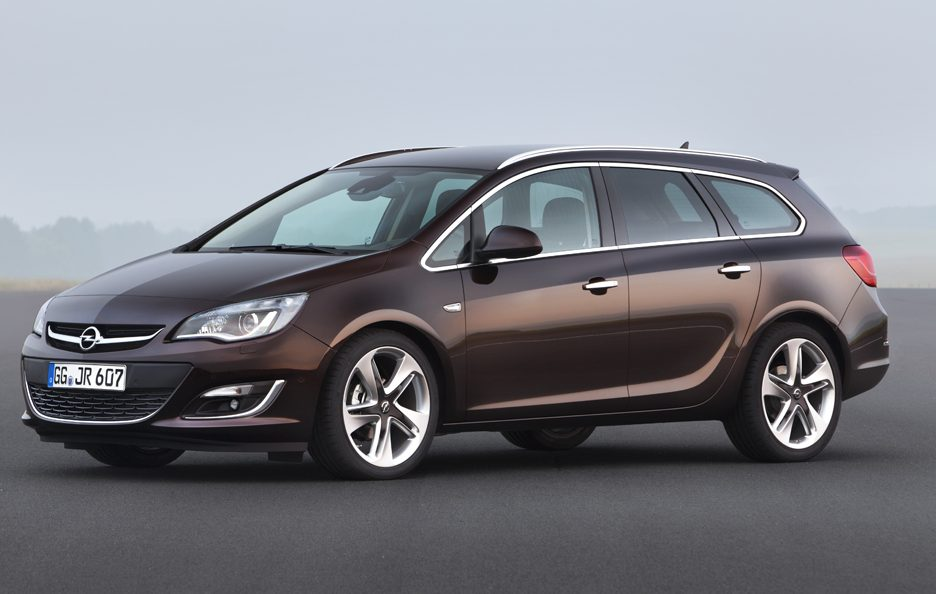 Opel Astra Station Wagon - Linee
