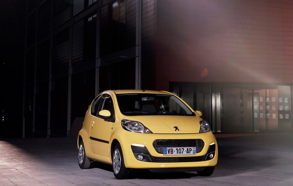 Peugeot 107 MY 2012 - Frontale