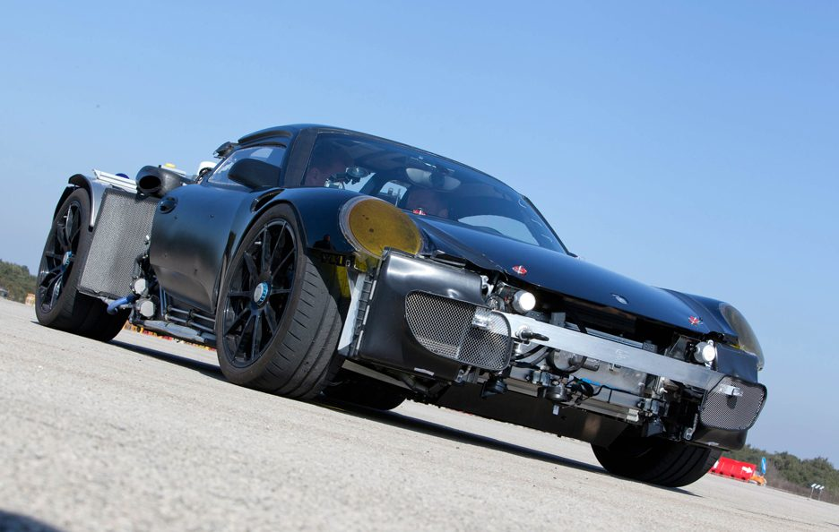 Porsche 918 Spyder - Chassis frontale basso