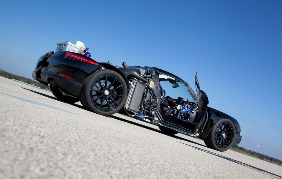 Porsche 918 Spyder - Chassis laterale basso