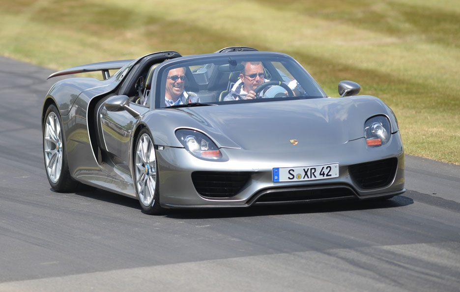 Porsche 918 Spyder - Goodwood 2013
