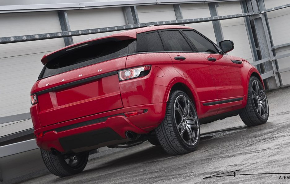 Range Rover Evoque by Project Kahn - Posteriore