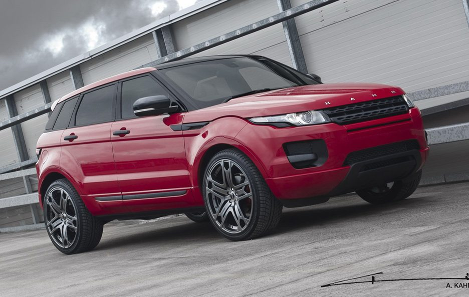 Range Rover Evoque by Project Kahn - Profilo frontale