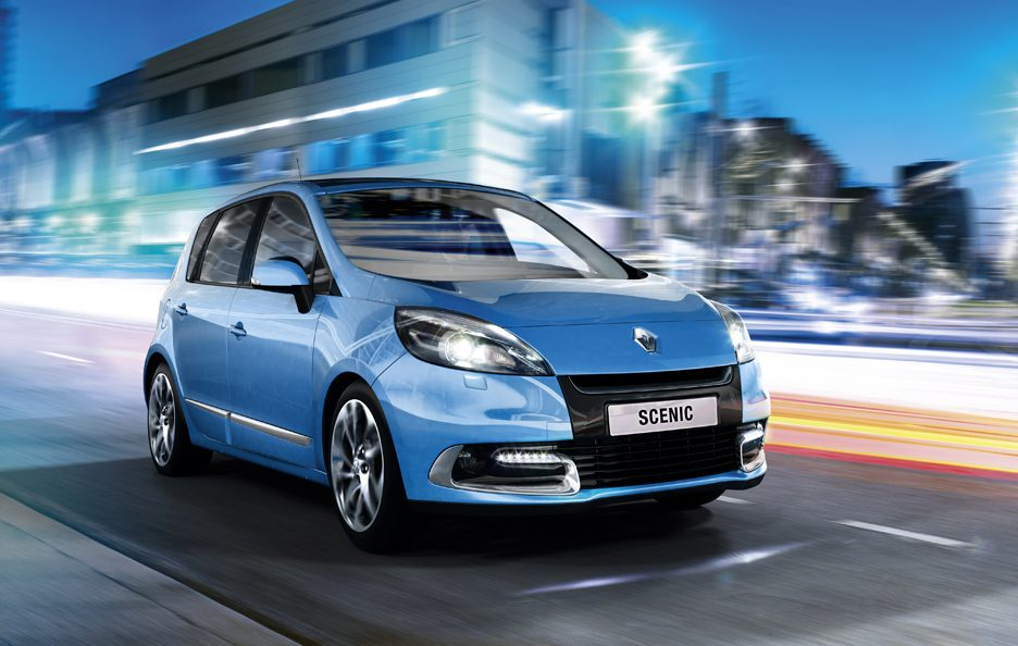 Renault  Scenic MY 2012 - Il frontale