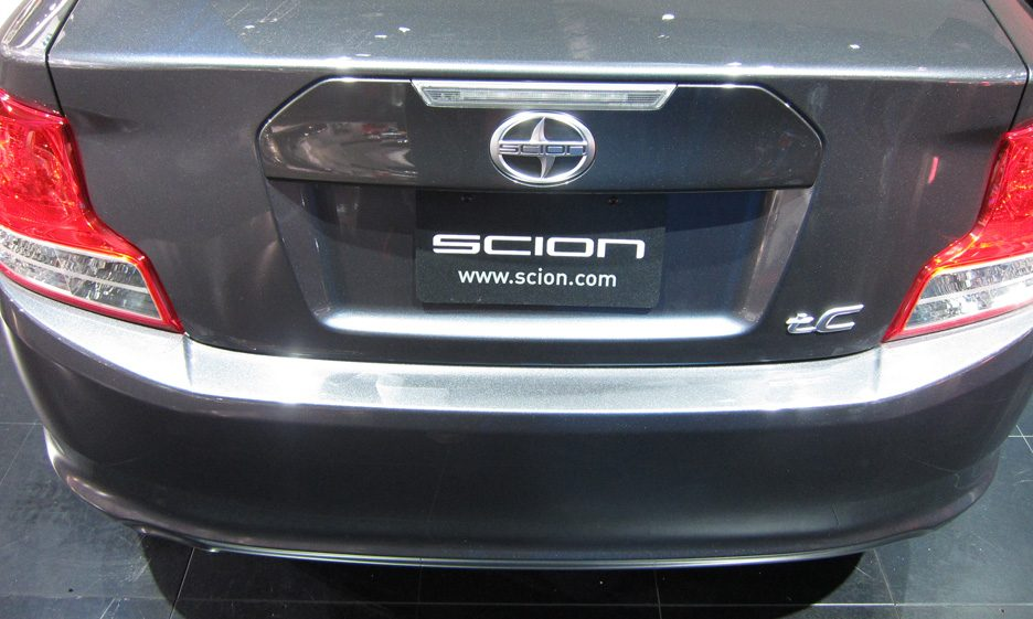 Scion tC - Posteriore