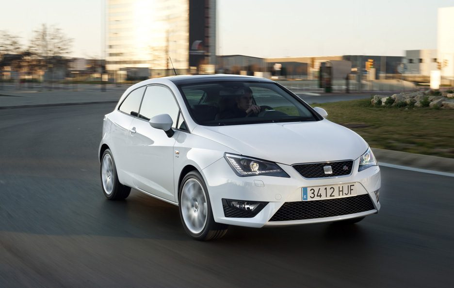 Seat Ibiza my 2012 - Frontale