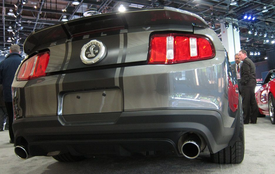 Shelby GT 500 - Il posteriore