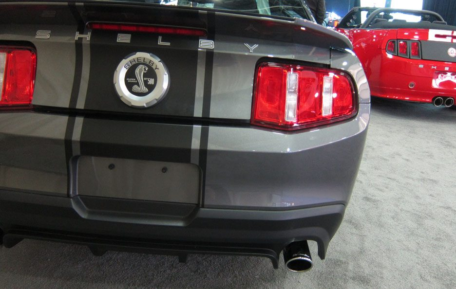 Shelby GT 500 - Posteriore