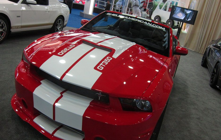 Shelby GT350 - Frontale