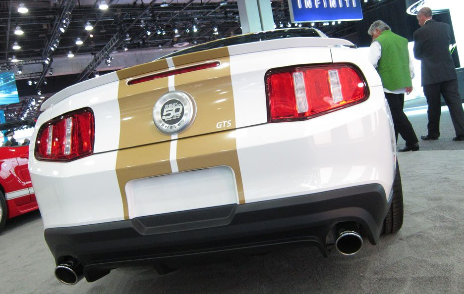 Shelby GTS - Posteriore