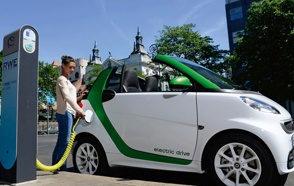 Smart Electric Drive Ricarica