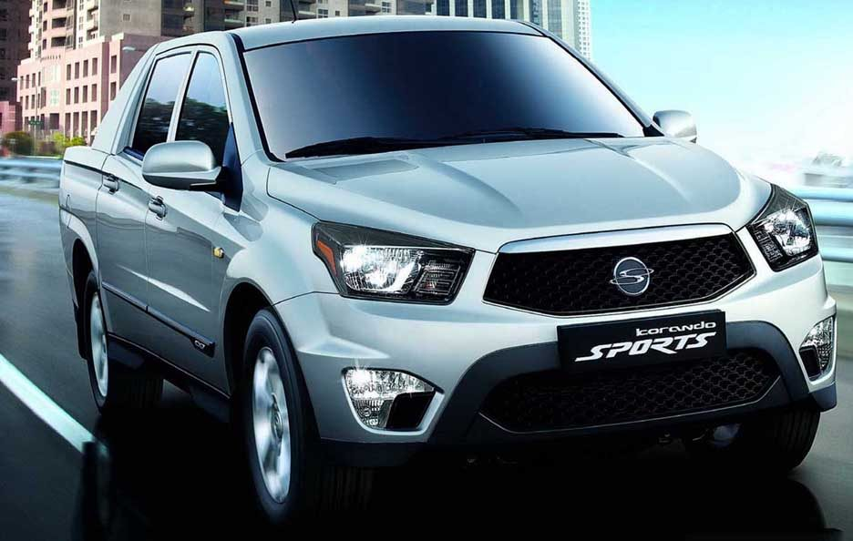 Ssangyong Korando Sports - Frontale