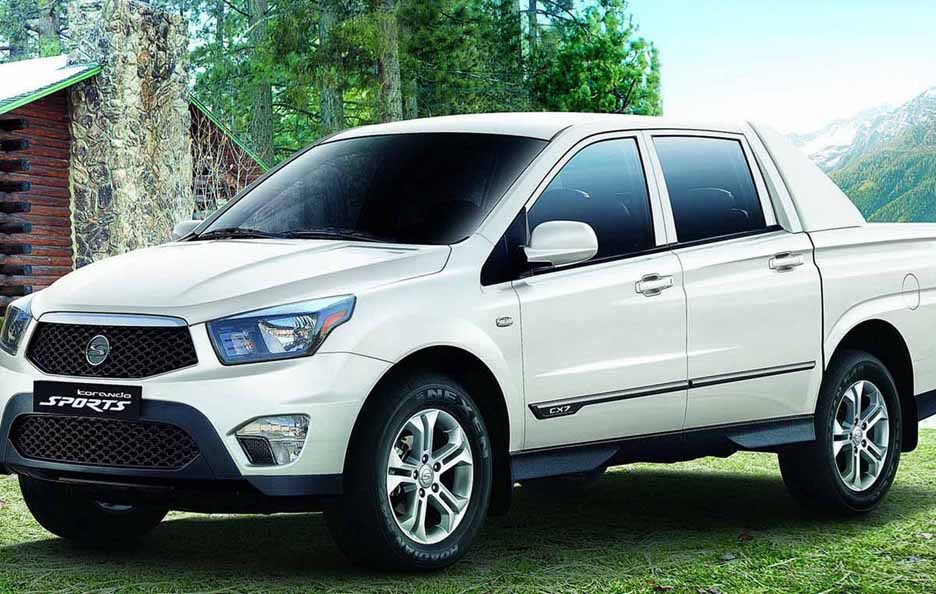 Ssangyong Korando Sports - Laterale