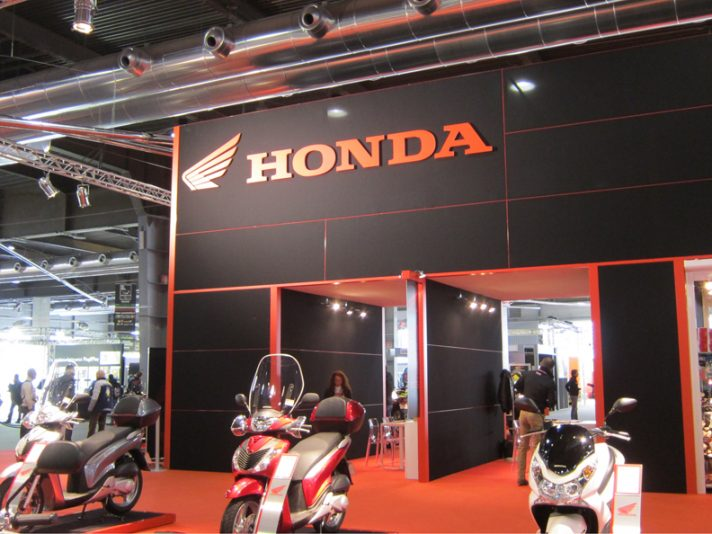 Honda al Motor Bike Expo