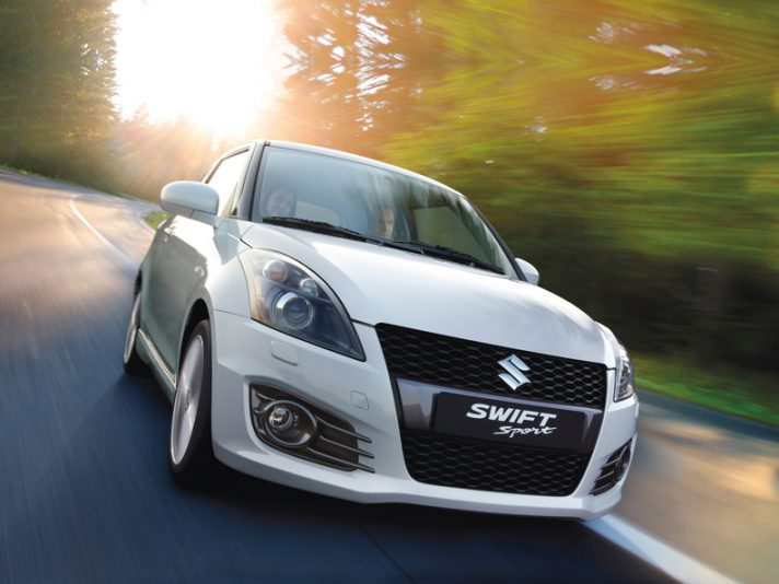 Suzuki Swift Tre quarti anteriore