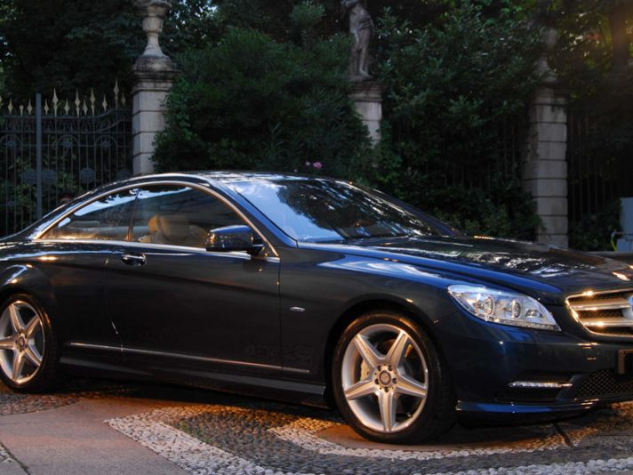Mercedes CL, la storia in foto