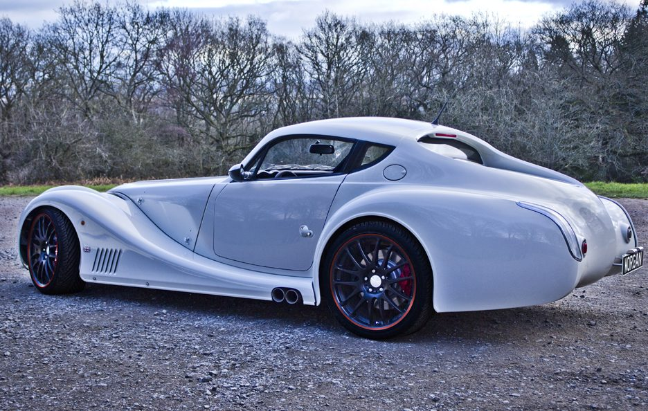 Morgan Aero Coupe - Il retrotreno