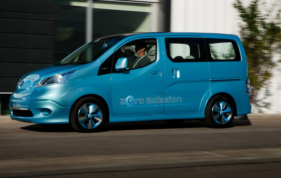 Nissan e-NV 200 - Laterale