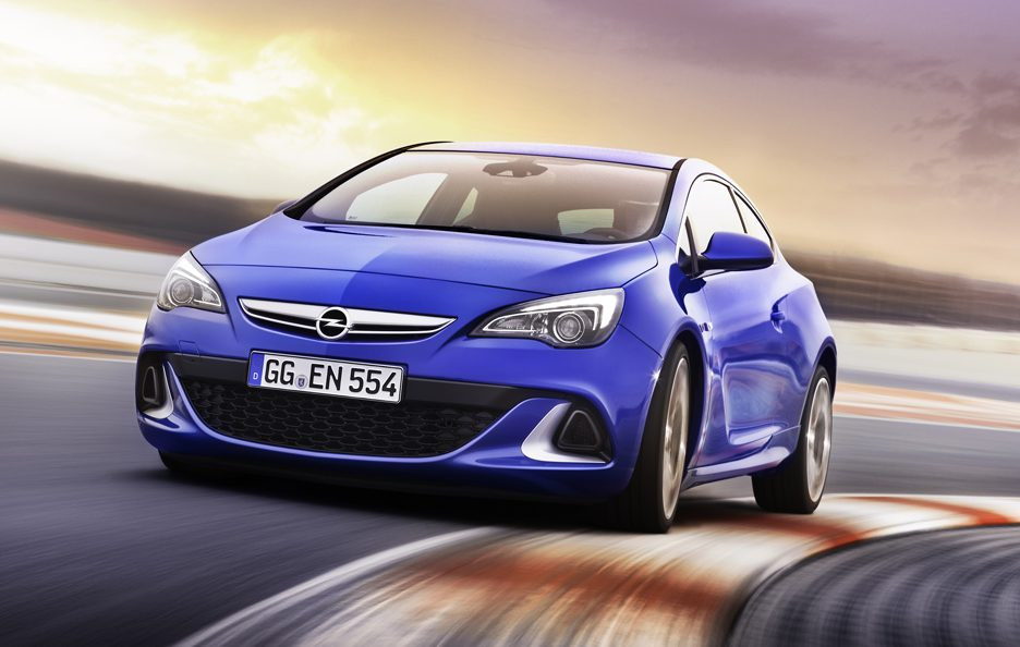 Opel Astra OPC - Frontale