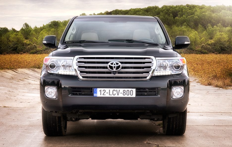 Toyota Land Cruiser MY 2012 - Frontale