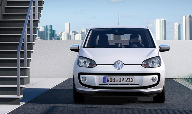 Volkswagen up - White - Frontale