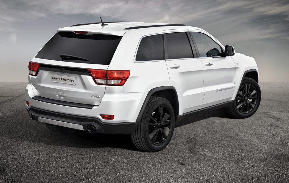 Jeep Grand Cherokee Production-intent sports Concept - Posteriore