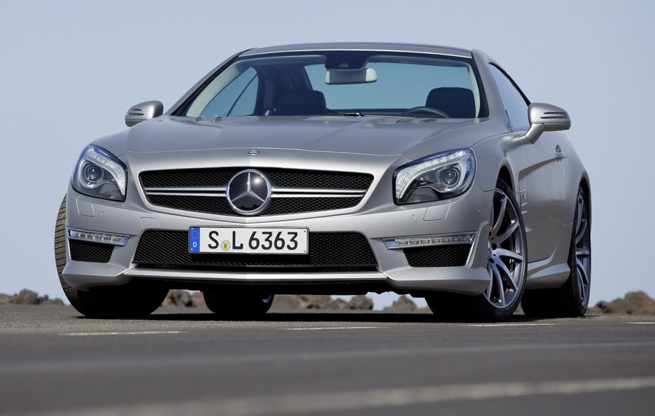 Mercedes SL 63 AMG - Frontale