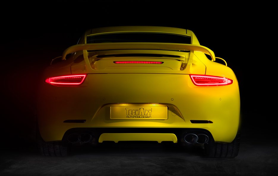 TechArt Porsche 911 Program - Posteriore