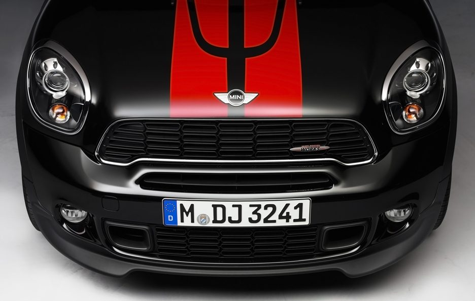 Mini Countryman John Cooper Works - Cofano