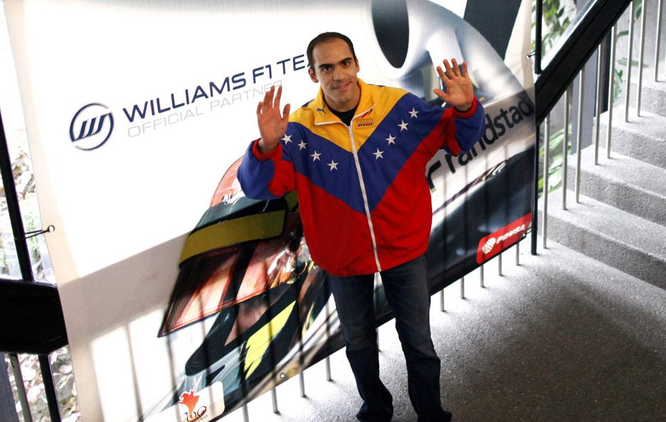 18 - Pastor Maldonado (Venezuela - Williams)