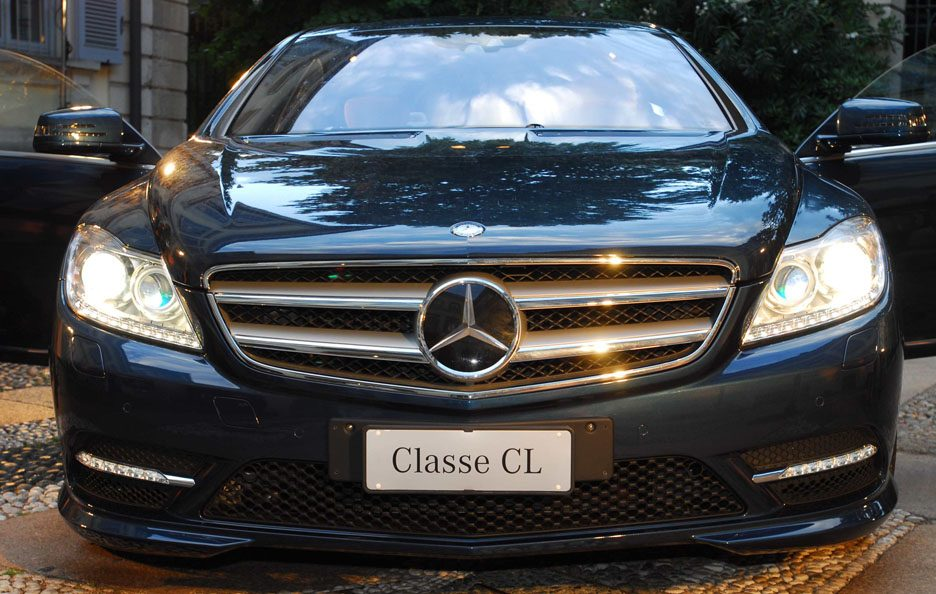 2 - Mercedes CL C216 restyling frontale