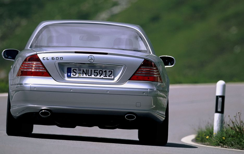 25 - Mercedes CL C215 coda