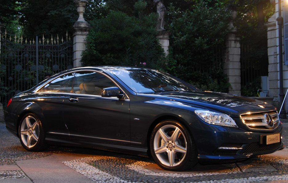 1 - Mercedes CL C216 restyling