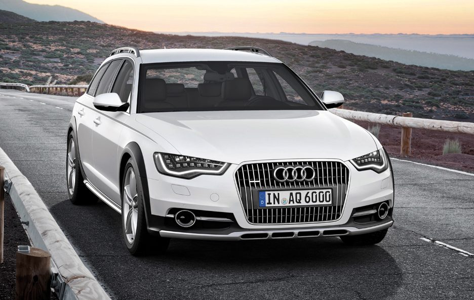 Audi A6 Allroad quattro - Frontale in motion