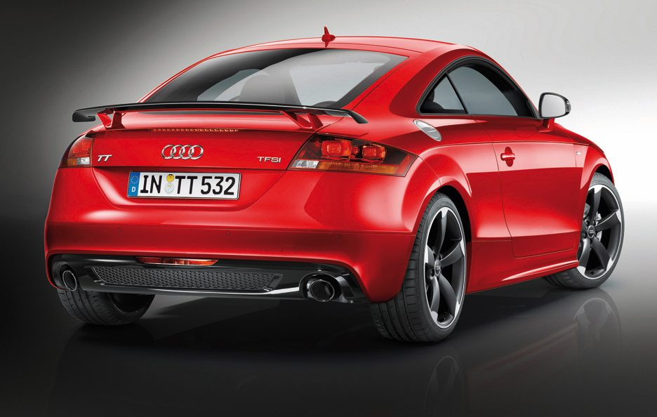 Audi TT S Line Competition - Posteriore