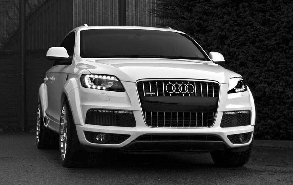 Audi q7 3.0 Tdi by Project Kahn - Frontale