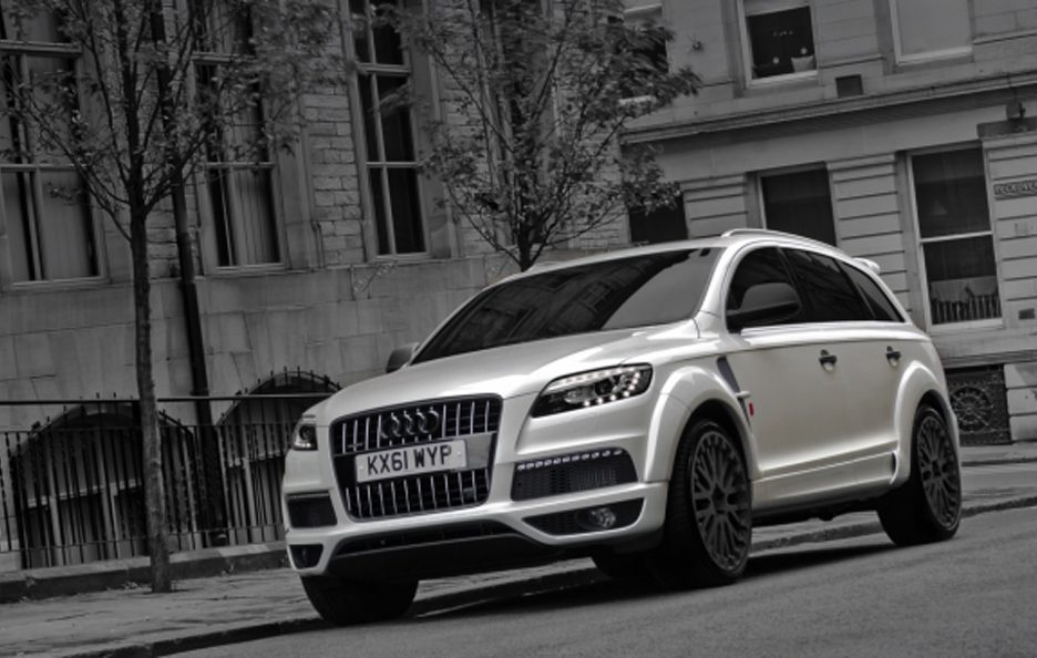 Audi q7 3.0 Tdi by Project Kahn - Profilo frontale