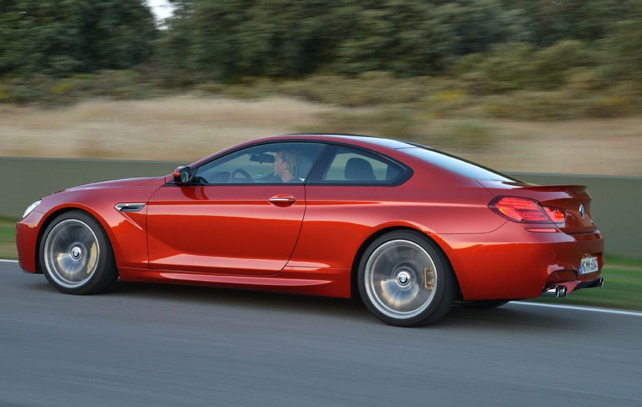 BMW M6 2012 - Laterale in motion