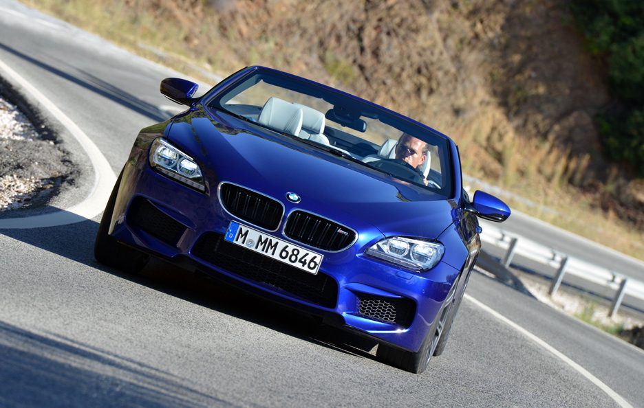 BMW M6 Cabrio 2012 - Frontale in motion