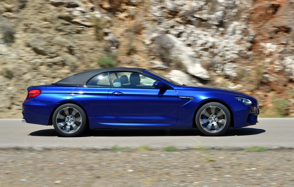 BMW M6 Cabrio 2012 - Laterale in motion